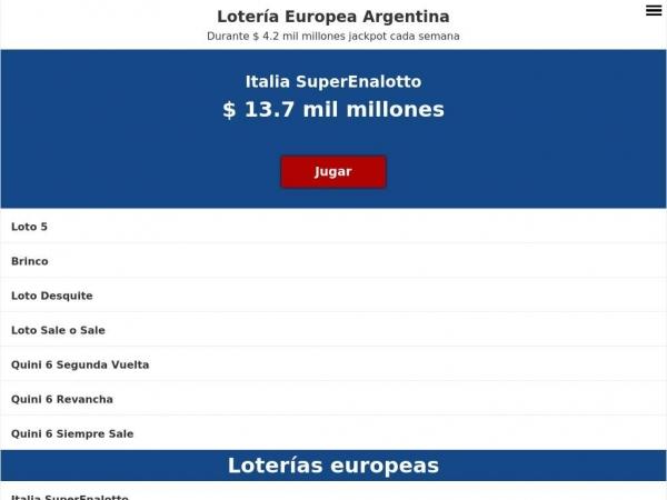 argentina.eurooppalotto.com