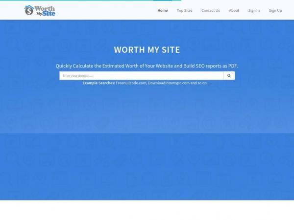 worthmyweb.com