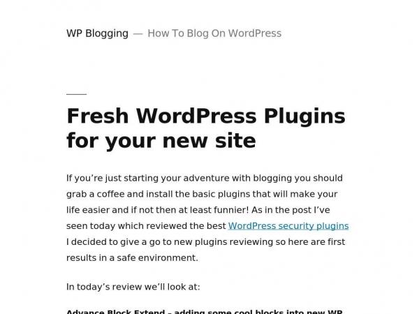 wpblogging.mywebcommunity.org